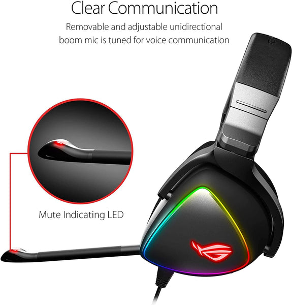 ASUS ROG Delta USB-C Gaming Headset - Choice Computer Technologies