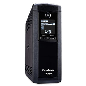 CYBERPOWER 1500VA W/LCD 8OUT USB/RJ11/45 - Choice Computer Technologies