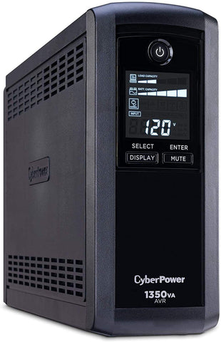 CyberPower UPS Systems CP1350AVRLCD - Choice Computer Technologies