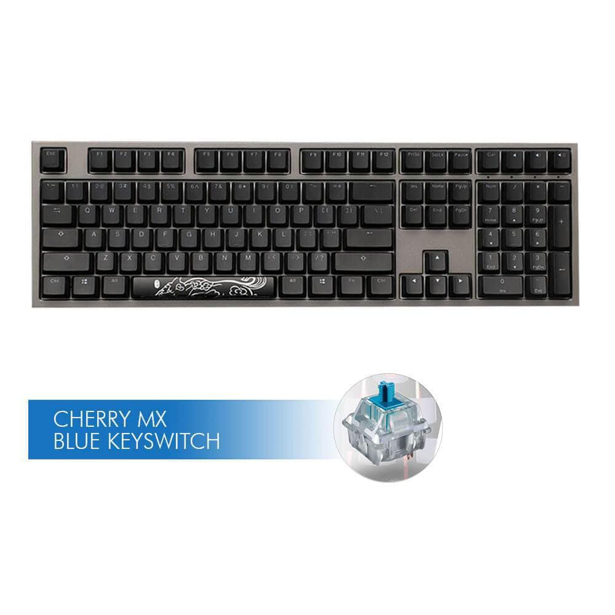 Ducky Shine 7, Cherry MX Blue - Choice Computer Technologies