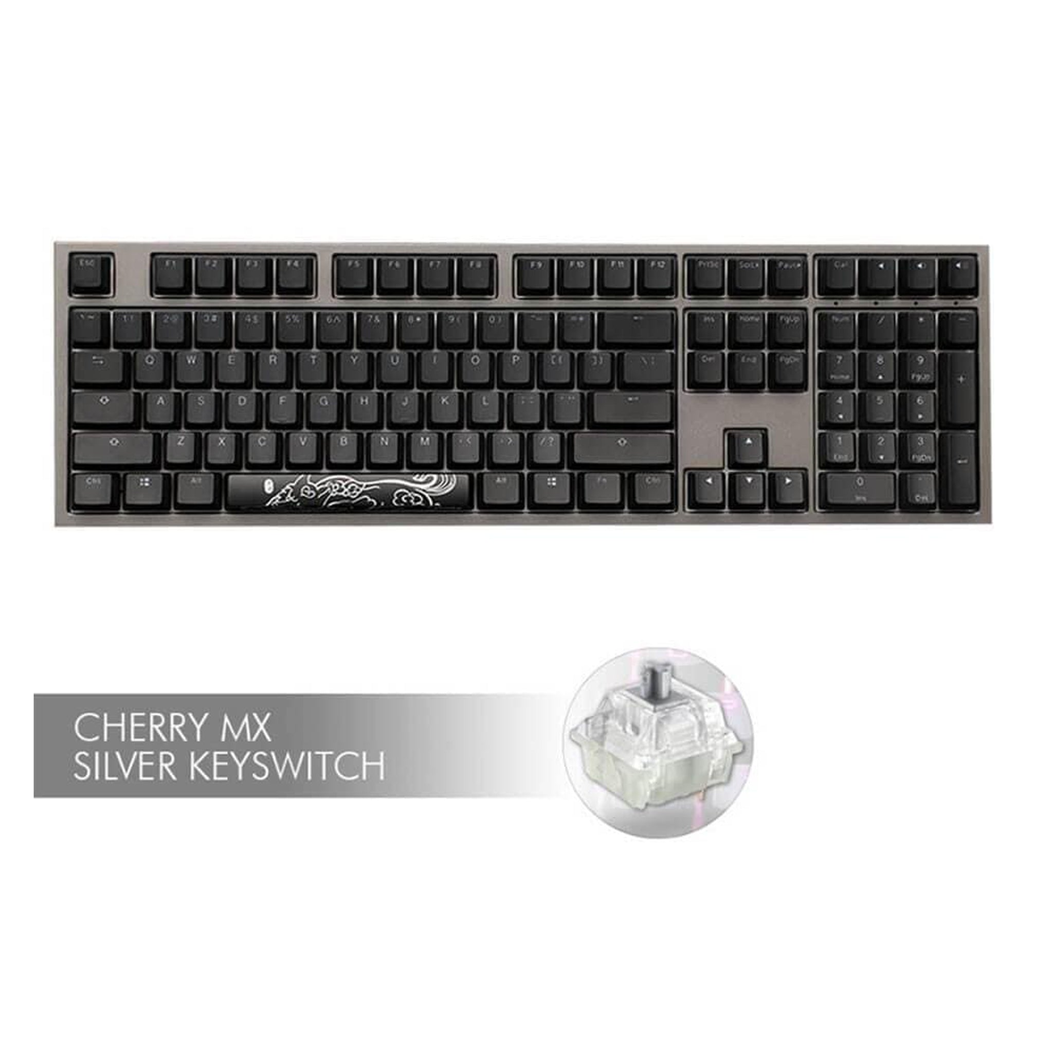 Ducky Shine 7, Cherry MX Silver - Choice Computer Technologies