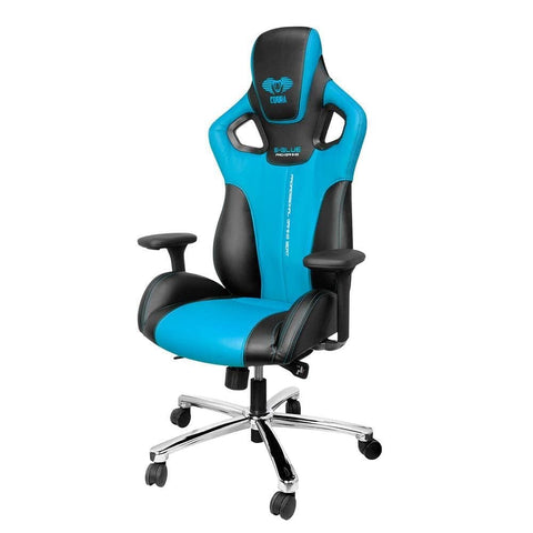 Cobra Gaming Chair - Blue - Choice Computer Technologies