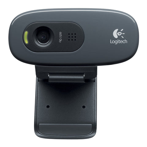 LOGITECH WEBCAM C270 720P 3MP BLACK - Choice Computer Technologies