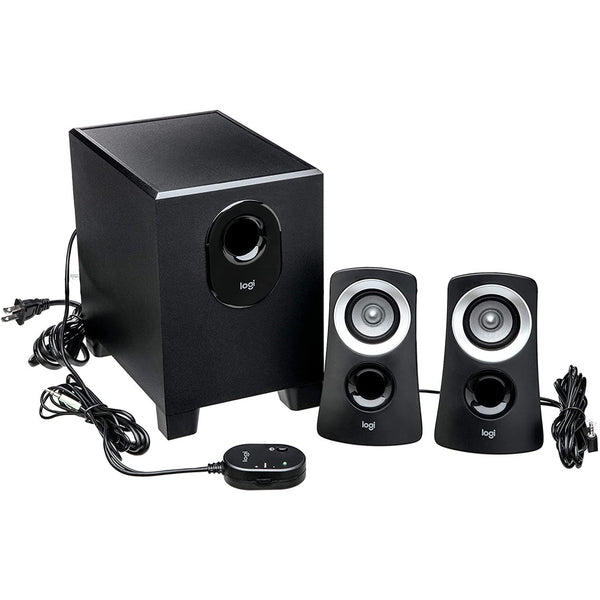 Logitech Z313 2.1 Speaker System - 25 W RMS - Black - Choice Computer Technologies