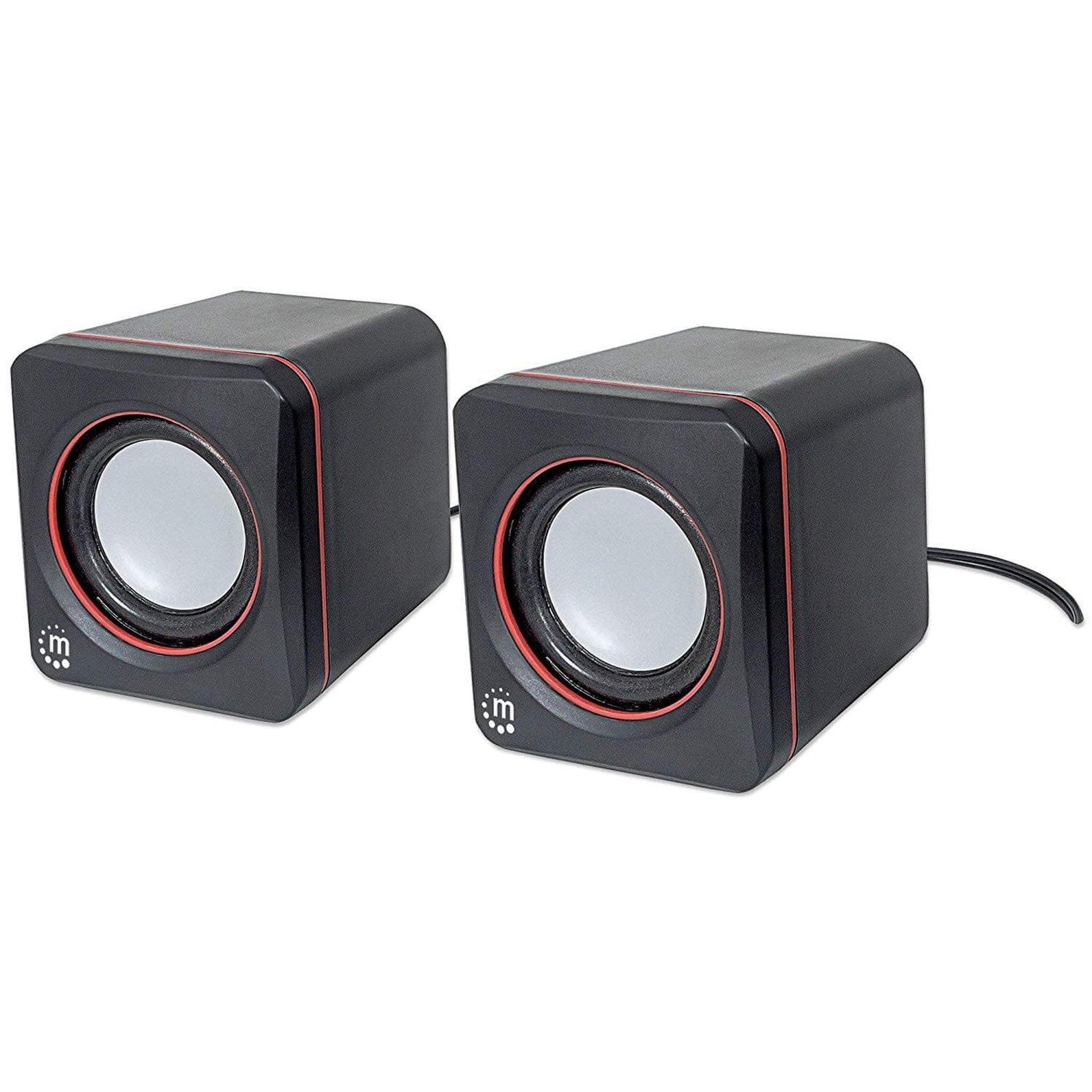 Manhattan 161435 2.0 Speaker System - Choice Computer Technologies