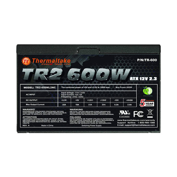 Thermaltake TR2-600NL2NC - Choice Computer Technologies