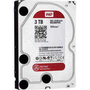 WD (SATA-3) 3TB (RED) 64MB 5400RPM HDD - Choice Computer Technologies