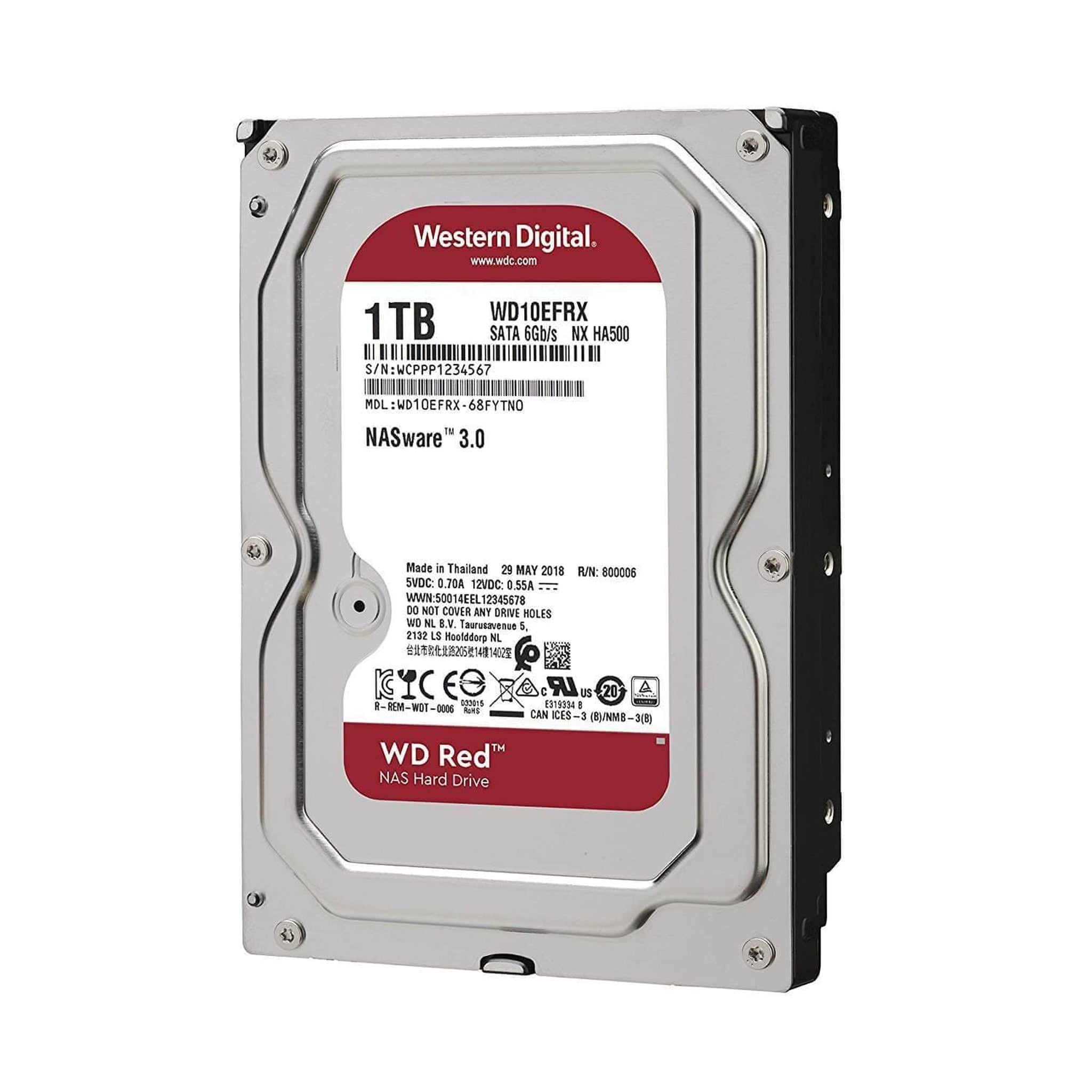 Western Digital 1TB (RED) 64MB 7200RPM - Choice Computer Technologies