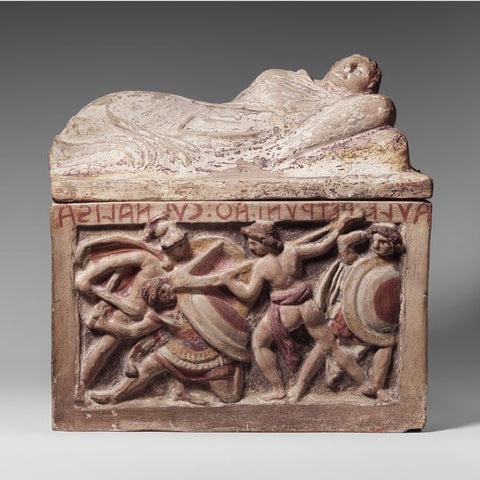 Etruscan Cinerary Urn - New York Metropolitan Museum of Art
