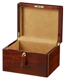 Wooden cremation urn box