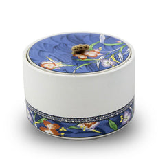 Blue Haven ceramic cremation urn