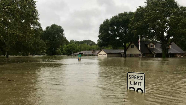 Houston Flooded by Harvey