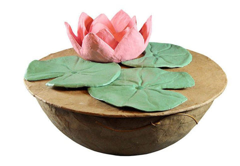 Divine Lotus Biodegradable Urn