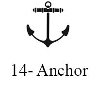 Anchor engraving