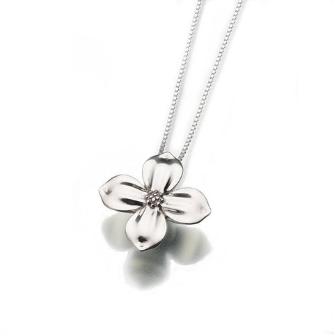 Dogwood Blossom Memorial Necklace