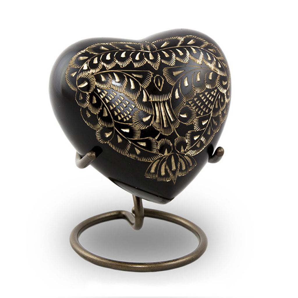 Radiance Cremation Keepsake Heart