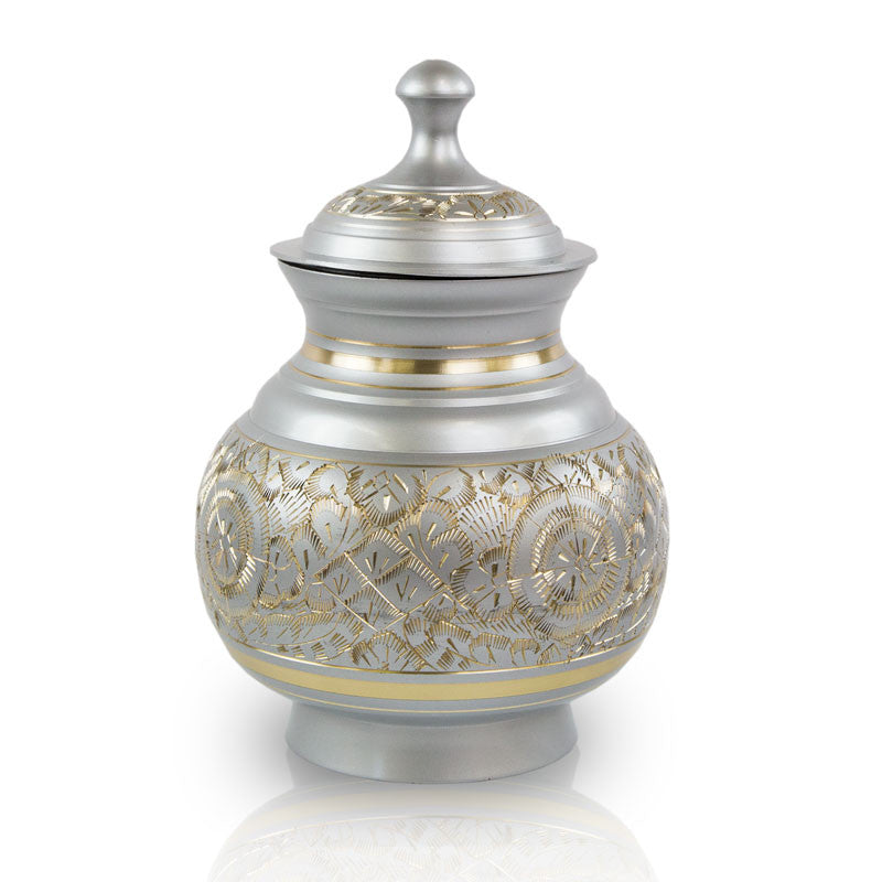 Timeless Pewter Pet Cremation Urns - Medium