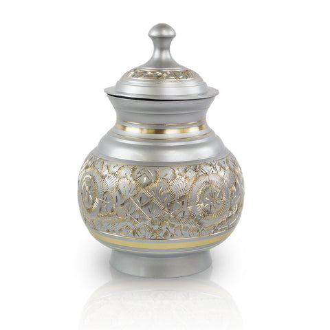 Timeless Pewter Pet Cremation Urns - Small