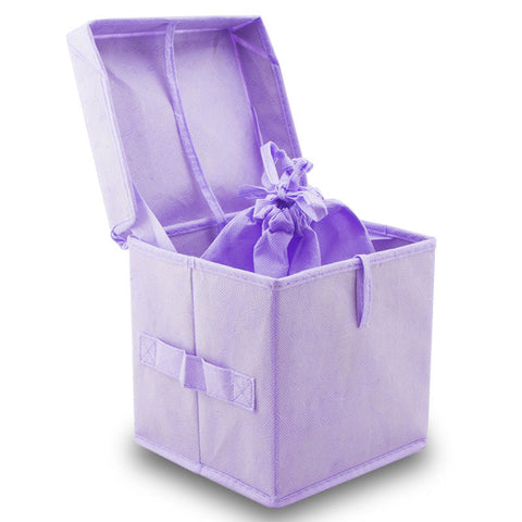 Purple Simplicity Biodegradable Pet Urn - Extra Large