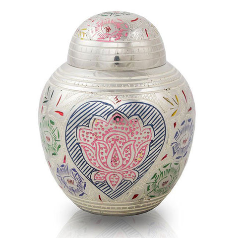Lotus Blossom Pet Urns - Medium