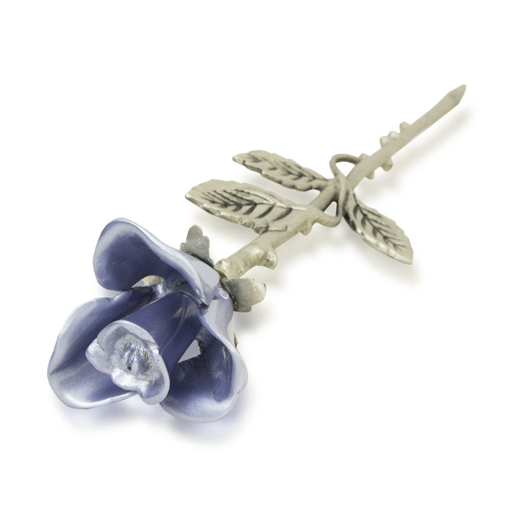 Lavender Rose Stem Cremation Keepsake