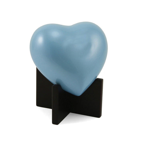 In Our Hearts Infant Cremation Urn - Blue