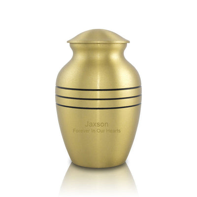 Classic Bronze Cremation Urn - Extra Small
