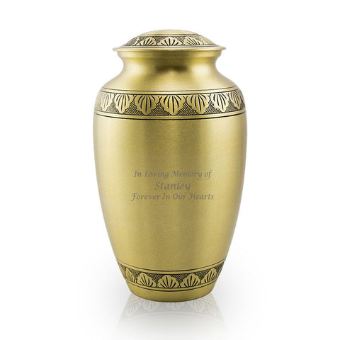 Athena Bronze Cremation Urn - Large