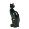 Bronze Curious Cat Cremation Urn