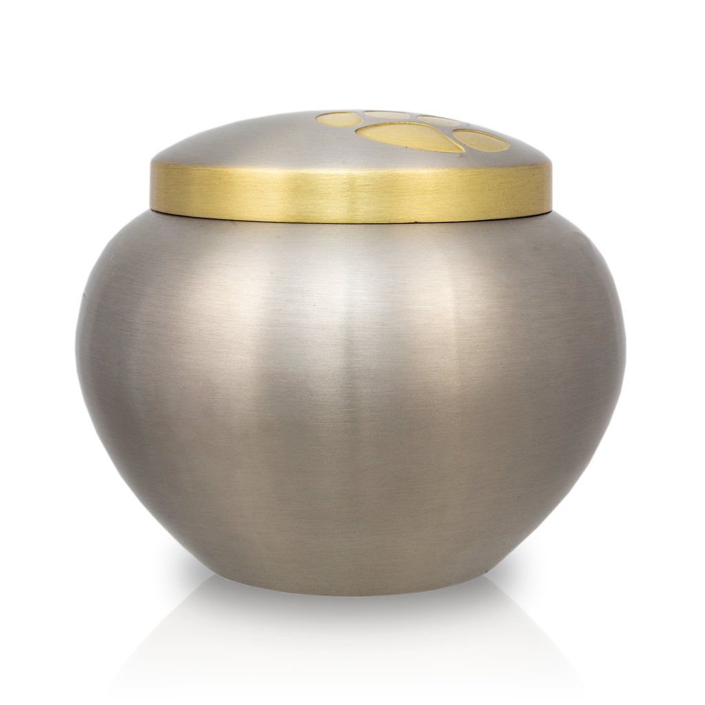 Medium Odyssey Pet Urns - Pewter
