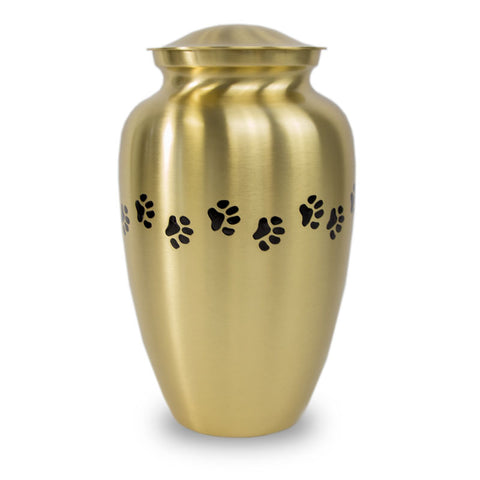 Bronze Paw Cremation Urn - Large