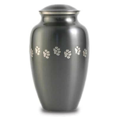 Classic Slate Pet Paw Urns - Large