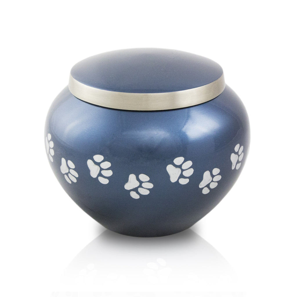Medium Odyssey Pet Urns - Midnight Blue