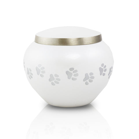 Small Odyssey Pet Urns - Pearl