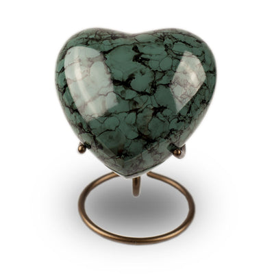 Glenwood Heart Cremation Keepsake - Gray