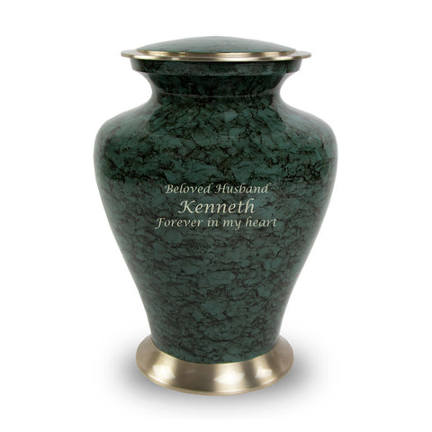 Glenwood Gray Cremation Urn - Large