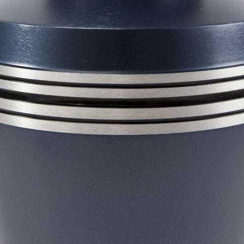 Grecian Blue Cremation Urn - Large