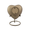 Aria Wheat Heart Cremation Keepsake