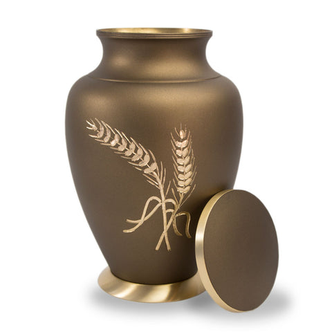 Aria Wheat Cremation Urn - Large