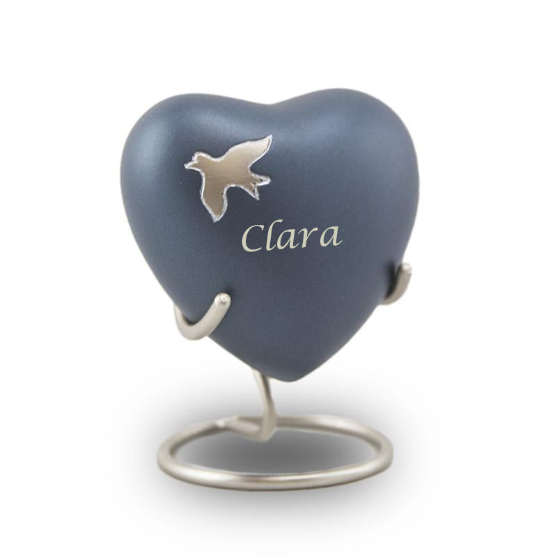 Aria Ascending Heart Cremation Keepsake