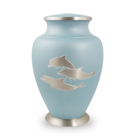 Aria Dolphin Cremation Urn - Large