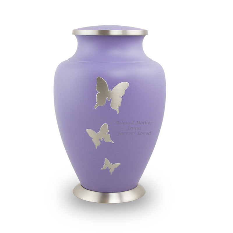 Aria Butterfly Cremation Urn - Large