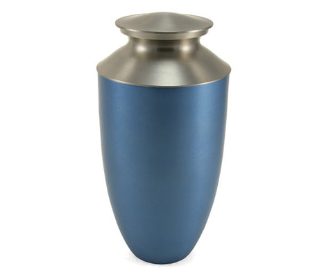Monterey Blue Bronze Cremation Urn