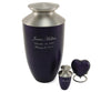 Purple Monterey Keepsake Urn