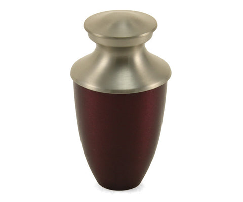 Ruby Red Monterey Keepsake Urn