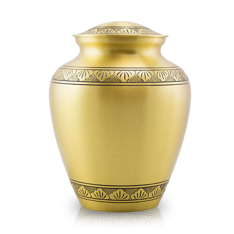 Elite Athena Bronze Cremation Urn - Large