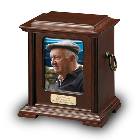 Honorary Photo Cremation Urn