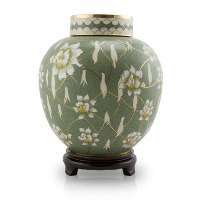 Pear Blossom Large Cremation Urn