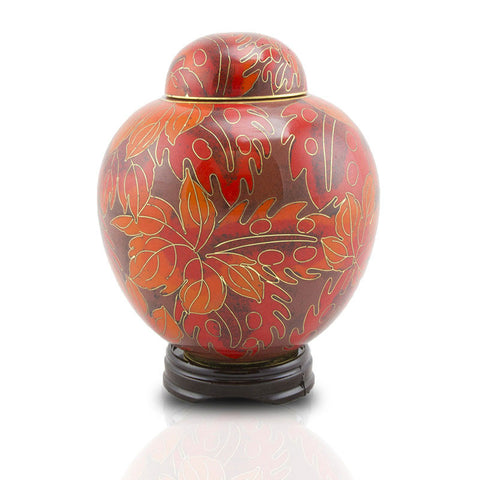 Autumn Forest Cremation Urn - Small