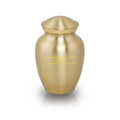 Classic Bronze Pet Urn - Extra Small